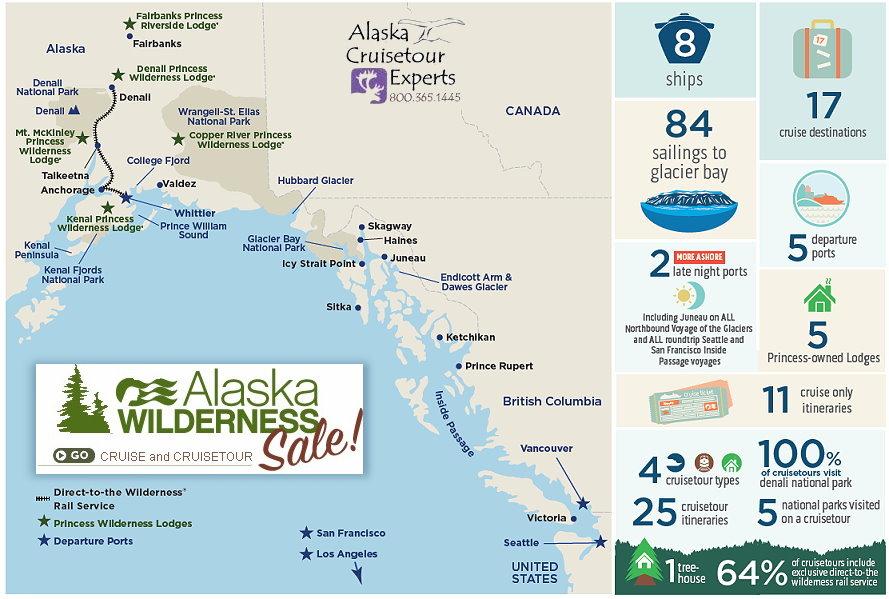 Alaska Cruises and Cruisetours - Our State of Alaska ...